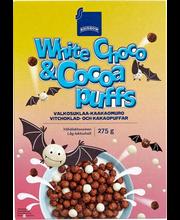 Teraviljapallid valge šokolaadi ja kakaoga 275 g