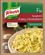 Spagetid 4juustu ja brokoli kastmes 43 g