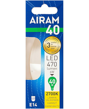 LED-küünal 6W E14 2700K 470LM
