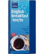 Must tee English breakfast 20 x 2 g