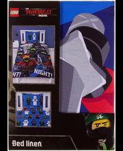 Voodipesukomplekt Lego 150x210/50x60 cm 100% puuvill