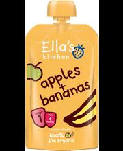 Ella´s Kitchen õuna-banaanipüree 120 g, öko, alates 4-elukuust
