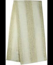 Kardin Nora 140 x 250 cm, valge/beez, 95% polüester, 5% lina