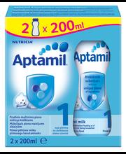 Aptamil 1 piimajook 2 x 200 ml, alates sünnist