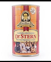 Dr.Stern konserv koertele lambaliha tükid kastmes 1,25kg