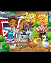 Puzzle Farm: lapsed vasikaga