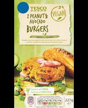 Maapähkli-avokaado-köögiviljapihvid, 227 g