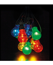Valguskett Garden Party Bulb Multicolor ip44