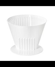 Kohvifilter, valge plast