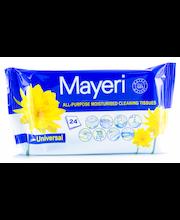 Mayeri Sensitive niisutatud universaalsed puhastuslapid 28 tk