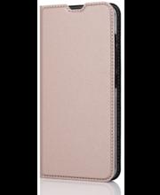 Wave'i BookCase-kaitseümbris telefonile Nokia 3.2, roosakuldne