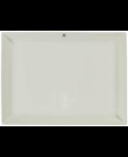Serveerimistaldrik 25x18,5 cm, valge