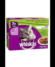 Täissöödavalik üle 7-aastastele kassidele 12 x 100 g