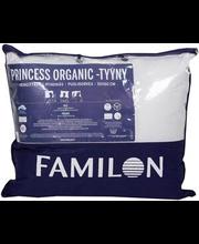 Padi Princess Organic 50 x 60 cm, valge, pealiskangas 100% lo...