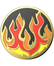 Popgrip enamel flame