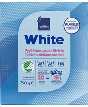 Rainbow White pesupulber 750 g, 19 pesukorda