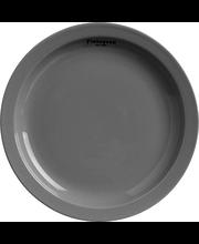 Taldrik Mittava 20 cm, hall/valge