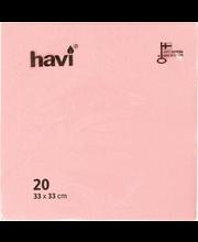 Salvrätik 33cm 20 tk, roosa