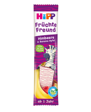 Hipp  puuviljasõber õuna-banaanibatoon vaarikaga, 23g, öko, a...