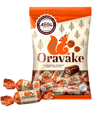 Kalev Oravake pähklitükkidega pralineekompvekid 175 g