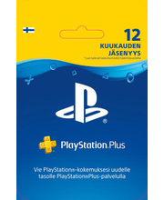 Playstation Plus liikmekaart 12 kuud