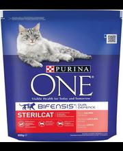 Kuivtoit steriliseeritud kassidele lõhe ja nisuga 800 g