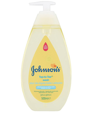 Johnson´s pesemisvahend Top-to-Toe pumbaga 500 ml