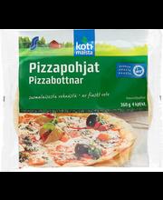 Eelküpsetatud pitsapõhjad, 4 x 90 g