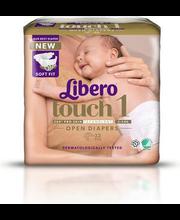 Libero Touch 1 Teipmähe 2-5kg 22 tk.
