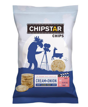 Chipstar hapukoore- ja sibulamaitselised riisikrõpsud 60 g