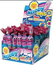 Chupa Chups Melody Pops maasikamaitseline pulgakomm 15 g