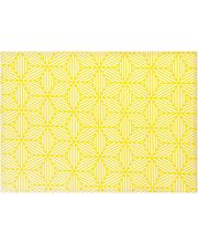 Lauamatt Nino 33 x 45 cm, kollane,  100% puuvill