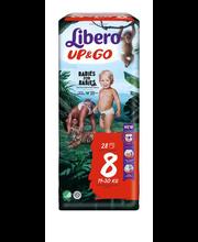 Libero Up&Go 8 Püksmähe 19-30kg 28 tk.