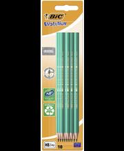 Harilik pliiats Bic Evolution 10 tk