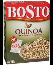 Bosto Quinoa, kolmevärviline 4x75 g
