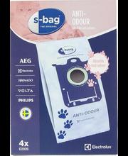 Tolmukott E203S S-Bag Anti Odour 4 tk