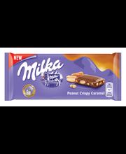 Milka maapähklikaramelliga piimašokolaad 90 g