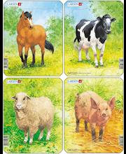 Raampuzzle Siga,lehm