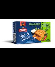 Paneeritud kalafileepala Hot&Spicy, 400 g