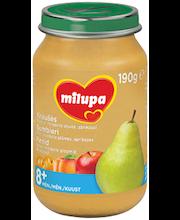 Pirnipüree õuna-, mirabelle ploomi- ja aprikoosiga 190 g, alates8-elukuust