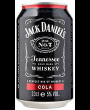 Jack Daniel's & Cola, 330 ml