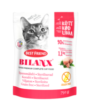 Best Friend Bilanx teraviljavaba täissööt steriliseeritud kas...