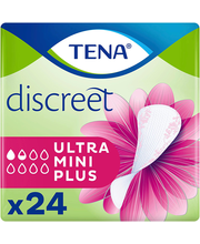 TENA Discreet Ultra Mini Plus inkontinents pesukaitse 24 tk