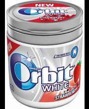 Orbit White maasika pudelis 60 tk
