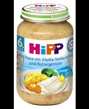 Hipp pasta-kala-juurviljapüree 190g, alates 6-elukuust