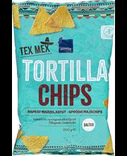 Naturaalsed Tortilla Chipsid 200 g, gluteenivaba