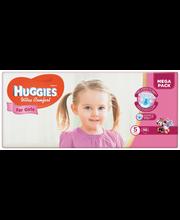 Huggies teipmähkmed Ultra Comfort 5 Mega Pack, tüdrukule, 12-...