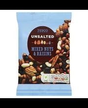 Tesco pähklite-rosinate mix soolata 250 g