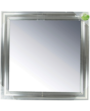 Peegel Alice Silver 40x40 cm, hõbedane