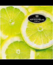 Salvrätik 20tk 25cm lemons